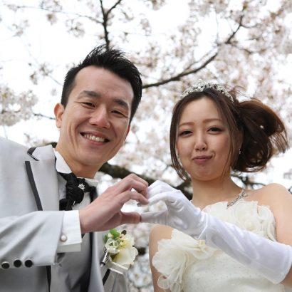 長野県松本市アルプス公園 春桜