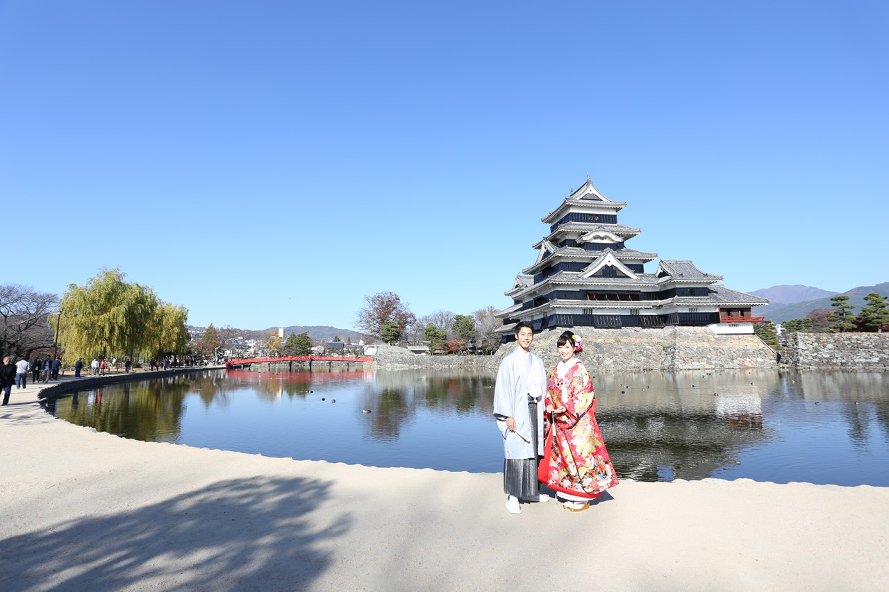 松本市松本城 前撮り